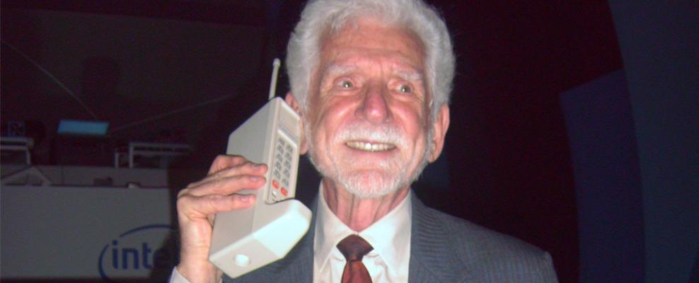 Hace 43 años de la primera llamada desde un móvil