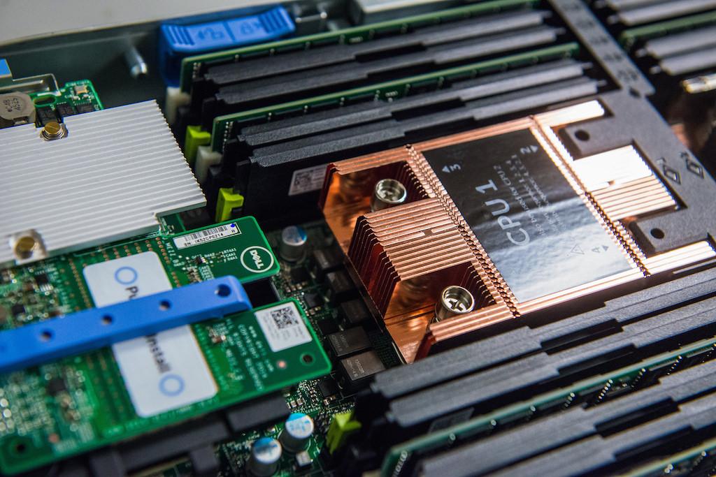 Detalle de procesadores en Servidores Dell