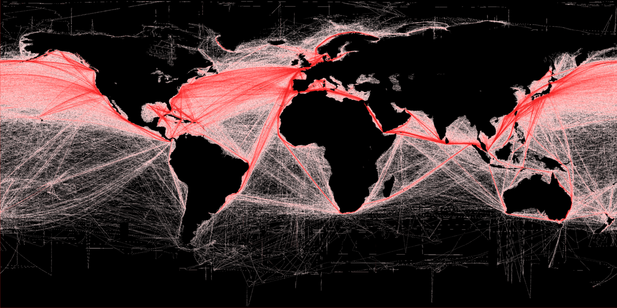 Rutas marítimas del mundo