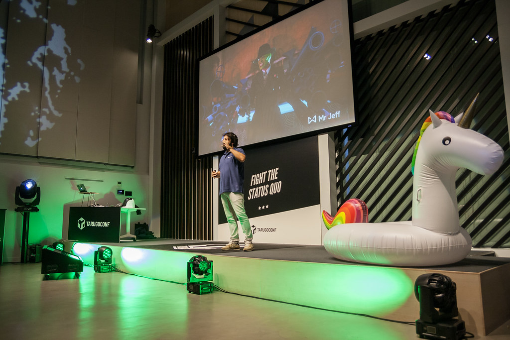Talk at Tarugoconf 2018